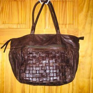 Timberland large leather handbag